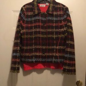 US size large Liz Claiborne wool jacket